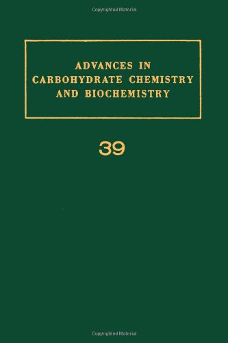 9780120072392: Advances in Carbohydrate Chemistry and Biochemistry, Vol. 39 (v. 39)