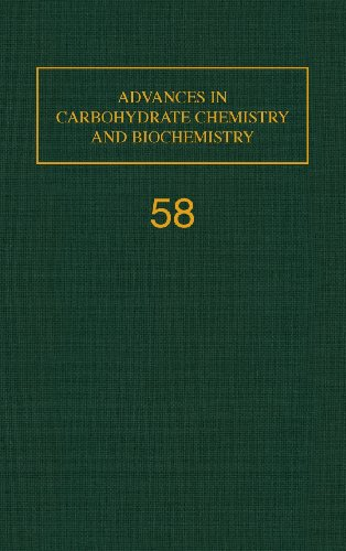 9780120072583: Advances in Carbohydrate Chemistry and Biochemistry, Vol. 58