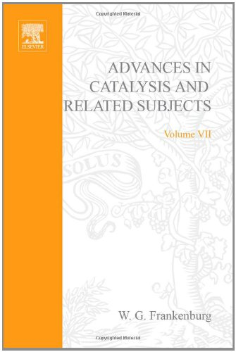 9780120078073: ADVANCES IN CATALYSIS VOLUME 7, Volume 7 (v. 7)