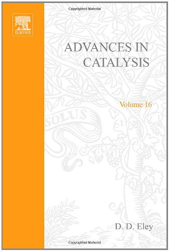 9780120078165: ADVANCES IN CATALYSIS VOLUME 16, Volume 16 (v. 16)
