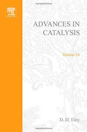 ADVANCES IN CATALYSIS VOLUME 24, Volume 24 (v. 24): n/a