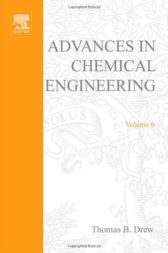 9780120085064: ADVANCES IN CHEMICAL ENGINEERING VOL 6, Volume 6 (v. 6)