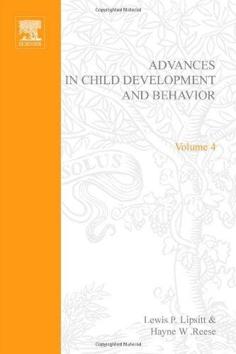 9780120097043: Advances in Child Development and Behavior: v. 4