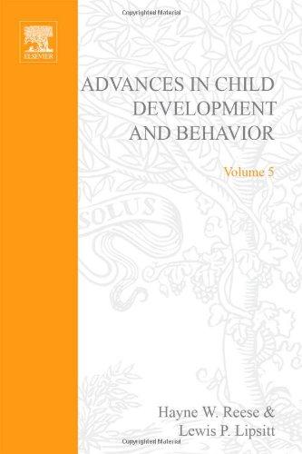 9780120097050: ADV IN CHILD DEVELOPMENT &BEHAVIOR V 5, Volume 5 (Advances in Child Development and Behavior)