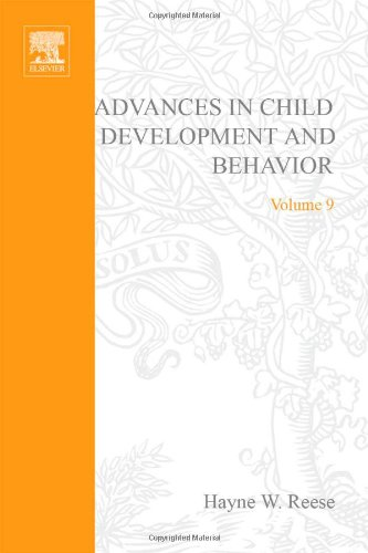 Advances in Child Development and Behavior Volume