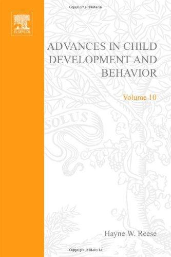 ADV IN CHILD DEVELOPMENT &BEHAVIOR V10, Volume: Hayne Reese