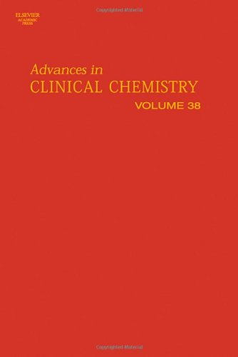 9780120103386: Advances in Clinical Chemistry, Volume 38