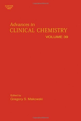 9780120103393: Advances in Clinical Chemistry, Volume 39