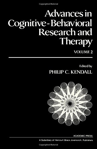9780120106028: Advances in Cognitive-behavioral Research and Therapy: v. 2