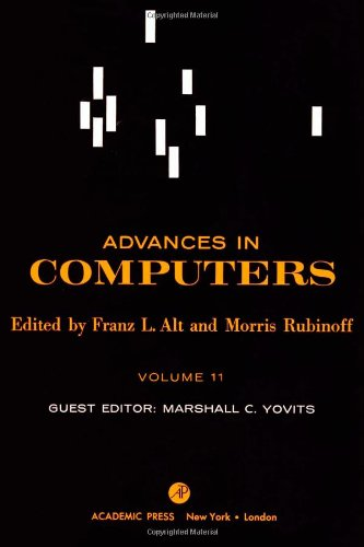 9780120121113: Advances in Computers: v. 11