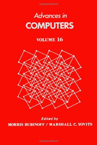 9780120121168: Advances in Computers, Vol. 16