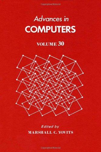 9780120121304: Advances in Computers: v. 30