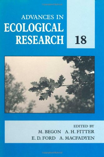 9780120139187: Advances in Ecological Research, Volume 18