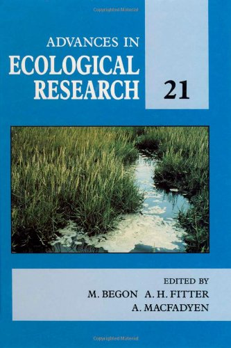 9780120139217: Advances in Ecological Research, Volume 21
