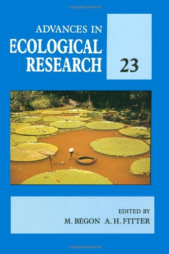 9780120139231: Advances in Ecological Research: v. 23