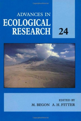 9780120139248: Advances in Ecological Research, Volume 24