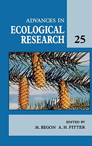 9780120139255: Advances in Ecological Research, Volume 25