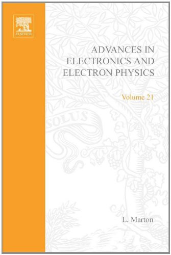 9780120145218: ADV ELECTRONICS ELECTRON PHYSICS V21, Volume 21