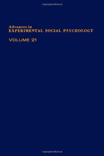 9780120152216: Advances in Experimental Social Psychology, Vol. 21: Social Psychological Studies of the Self - Perspectives and Programs