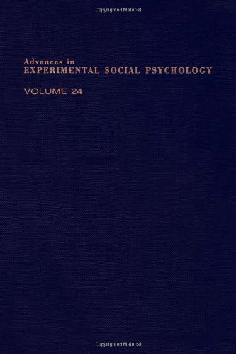 9780120152247: ADV EXPERIMENTAL SOCIAL PSYCHOLOGY,V 24, Volume 24 (Advances in Experimental Social Psychology)