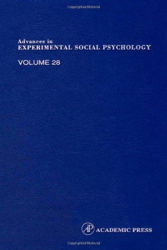 9780120152285: Advances in Experimental Social Psychology, Volume 28