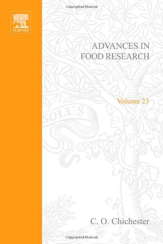 9780120164233: ADVANCES IN FOOD RESEARCH VOLUME 23, Volume 23 (v. 23)