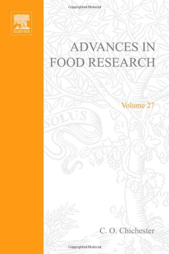 9780120164271: Advances in Food Research: v. 27