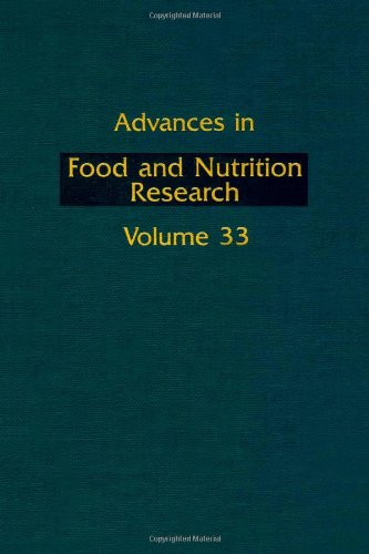 9780120164332: Advances in Food and Nutrition Research: v. 33