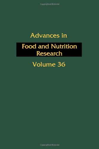 9780120164363: Advances in Food and Nutrition Research: v. 36