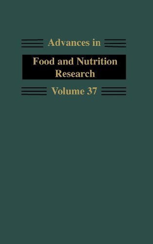 9780120164370: Advances in Food and Nutrition Research: 37 (Advances in Food & Nutrition Research)
