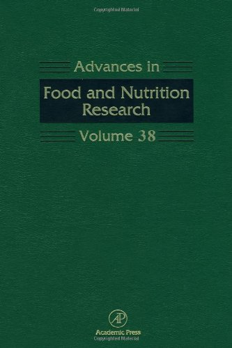9780120164387: Advances in Food and Nutrition Research: 38 (Advances in Food & Nutrition Research)