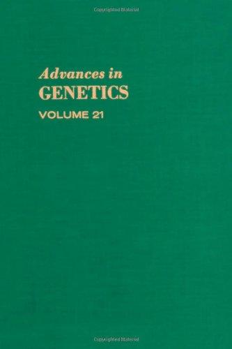 9780120176212: Advances in Genetics, Volume 21 (v. 21)