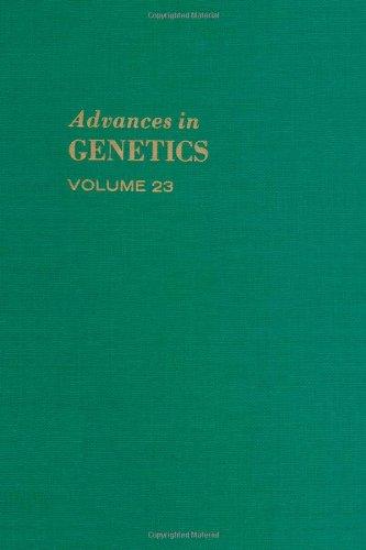 9780120176236: ADVANCES IN GENETICS VOLUME 23, Volume 23