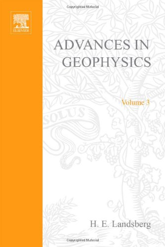 9780120188031: Advances in Geophysics: v. 3