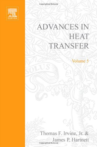 9780120200054: ADVANCES IN HEAT TRANSFER VOLUME 5, Volume 5 (v. 5)