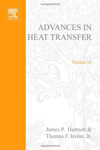 9780120200160: Advances in Heat Transfer: v. 16