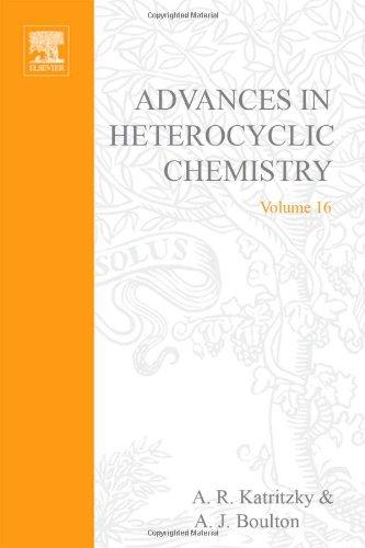 9780120206162: Advances in Heterocyclic Chemistry: v. 16