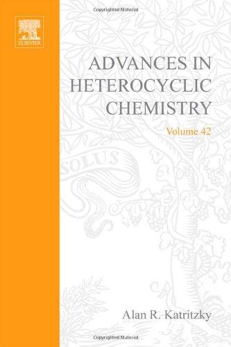 9780120206421: Advances in Heterocyclic Chemistry, Vol. 42