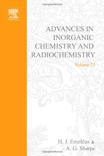 9780120236237: Advances in Inorganic Chemistry and Radiochemistry, Vol. 23