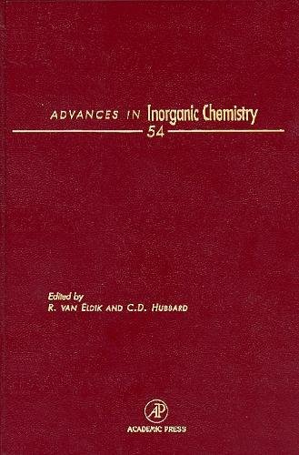 9780120236541: Advances in Inorganic Chemistry, Volume 54: Inorganic Reaction Mechanisms