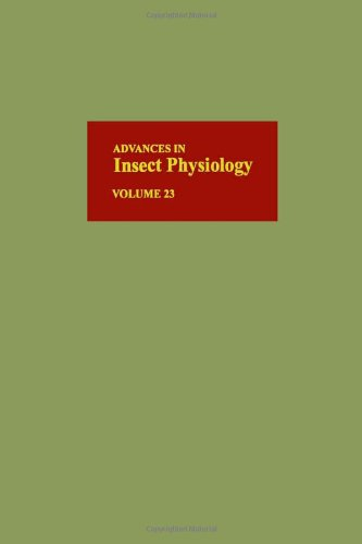 9780120242238: Advances in Insect Physiology, Volume 23