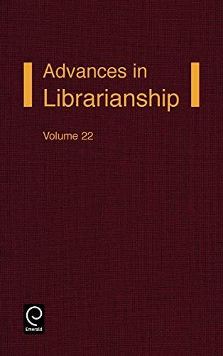 9780120246229: Advances in Librarianship: v. 22