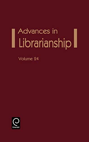 9780120246243: Advances in Librarianship, Vol. 24 (Advances in Librarianship)