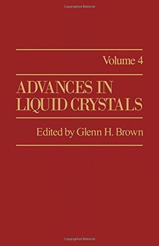 9780120250042: Advances in Liquid Crystals: v. 4