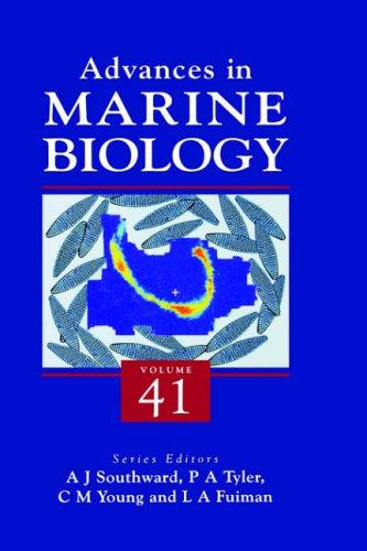 9780120261413: ADVANCES IN MARINE BIOLOGY VOL 41