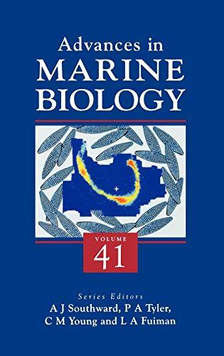 9780120261413: Advances in Marine Biology, Volume 41