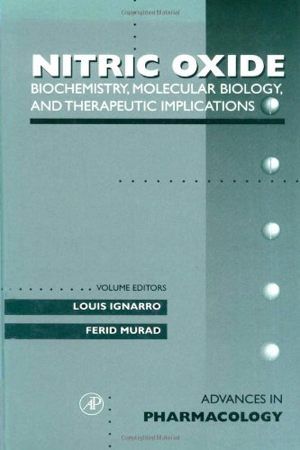 9780120329359: Biochemistry, Molecular Biology, and Therapeutic Implications, Volume 34: Nitric Oxide: Biochemistry, Molecular Biology, And Therapeutic Implications (Advances in Pharmacology, Vol 34)