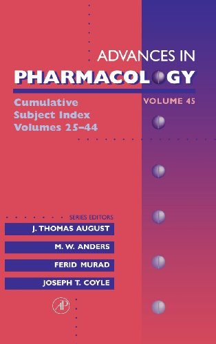 9780120329465: Cumulative Subject Index, Volume 45 (Advances in Pharmacology)