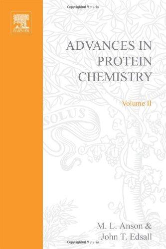 9780120342020: ADVANCES IN PROTEIN CHEMISTRY VOL 2, Volume 2 (v. 2)