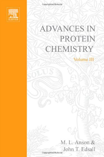 9780120342037: Advances in Protein Chemistry: v. 3